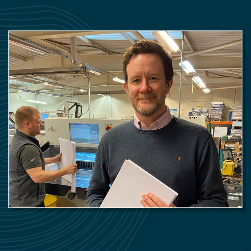 H&H Reeds has announced a new partnership with paper manufacturer James Cropper (pictured) to directly supply Cumbrian businesses with paper products with in-built antiviral protection.